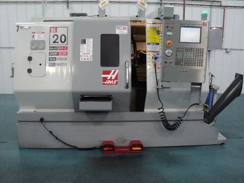 Haas SL-20 Turning Center (Lathe)