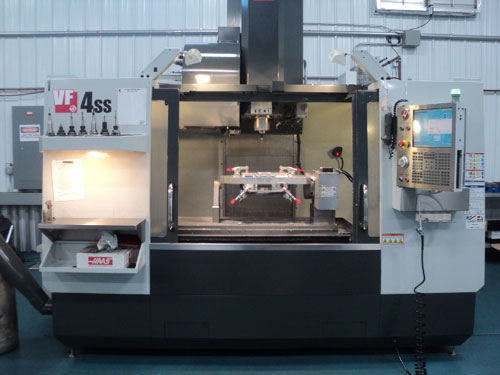 Haas VF 4SS Vertical Mill